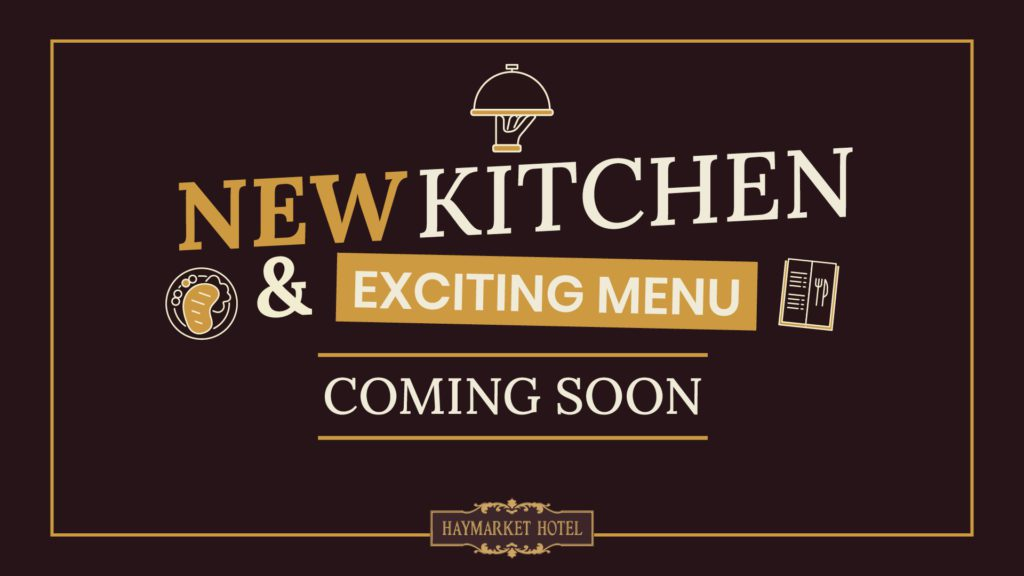 Kitchen coming soon